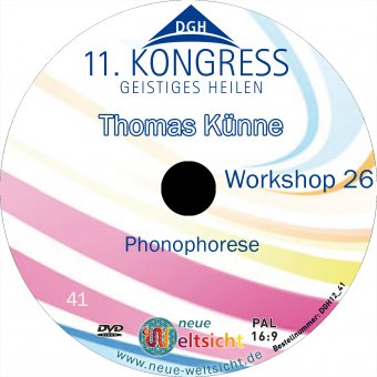 Phonophorese-Workshop (Thomas Künne)