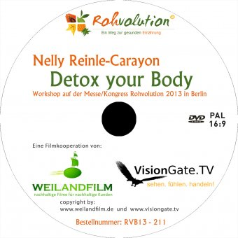 Nelly Reinle-Carayon - Detox your Body